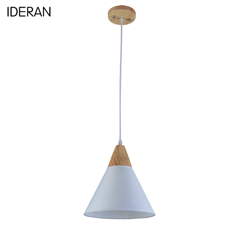 Фотография IDERAN Pendant Lights moderne dining living lighting Copper shade design Beat Light E27 Bulb fixture for kitchen room bedroom