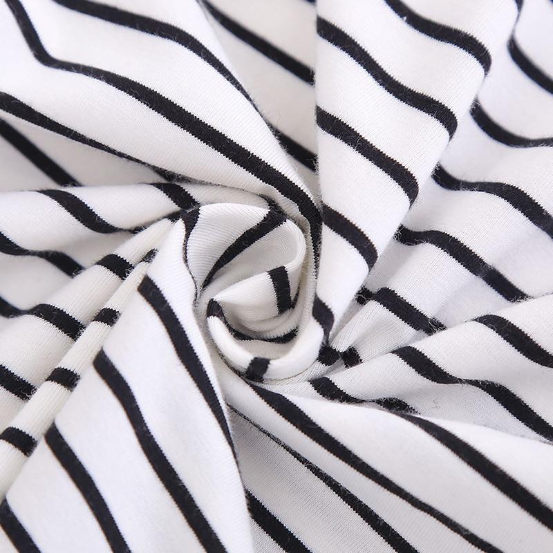 2-12 Yrs Kids Cotton Long Sleeve T Shirts Striped Boys Girls Basic Tops Tees Children Autumn Clothes T-shirt Sweatshirt 6