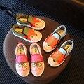 Crianças casual shoes meninos bebê dos desenhos animados sports shoes meninas sapatilha lantejoulas princesa flat shoes crianças shoes