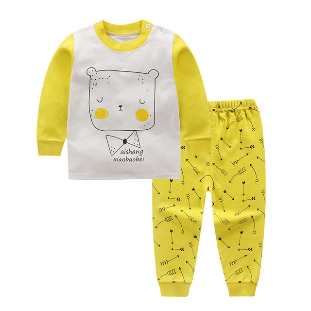 b534d3f4e36 newborn autumn cute winter baby clothes set 2pcs cotton baby girls clothes  Cartoons baby boy clothes suits baby girl cothing