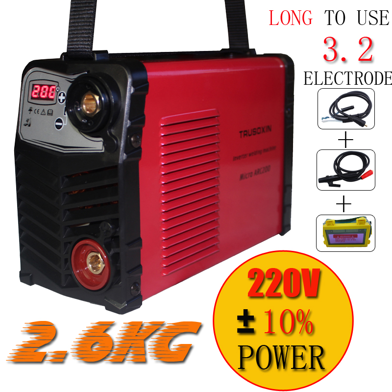 Protable Plastic panel Welding tools 220V/230V MINI  Inverter DC IGBT DIY Welding machine/equipment /welder with eyes mask  цены