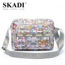 SKADI Lässige mode 2016 frauen mehrfach frauen horizontale kleine handtasche der frauen umhängetasche
