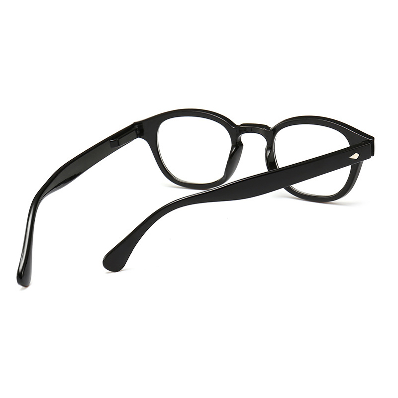 HOT Anti Blue Light Reading Glasses Men Women Bright Black Frame Glasses magnifier Oculos gafas de lectura glasses for sight N9 in Women 39 s Reading Glasses from Apparel Accessories