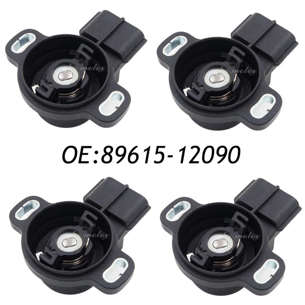 New 4pcs Throttle Position Sensor TPS For Toyota Corolla Camry Celica Supra RAV4, Lexus 89452-22090 198500-3011 корпус atx zalman r1 без бп чёрный