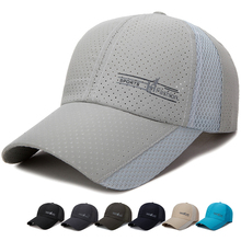 Connectyle Mens Women Summer Baseball Cap Breathable Sports Hats Quick Dry Running Hat Adjustable Sun UV Protection