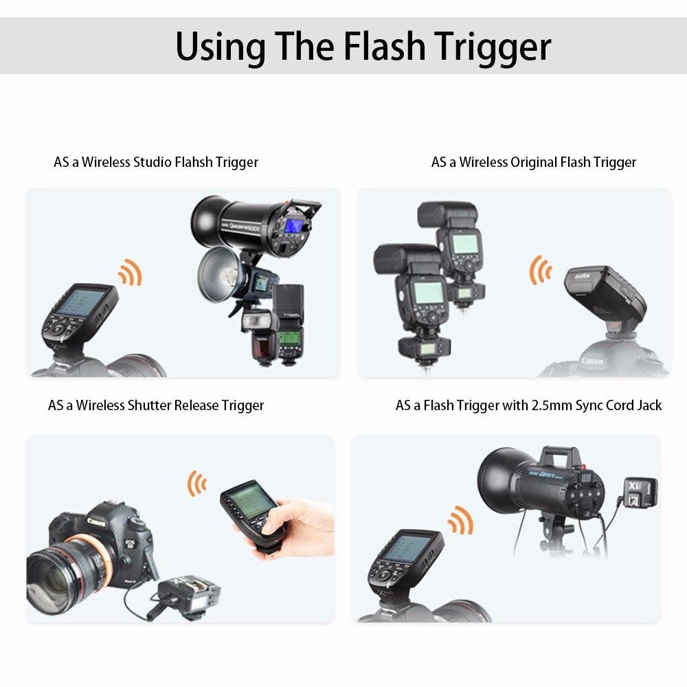 Godox XProN TTL Disparador de Flash Inalámbrico para Cámaras Nikon