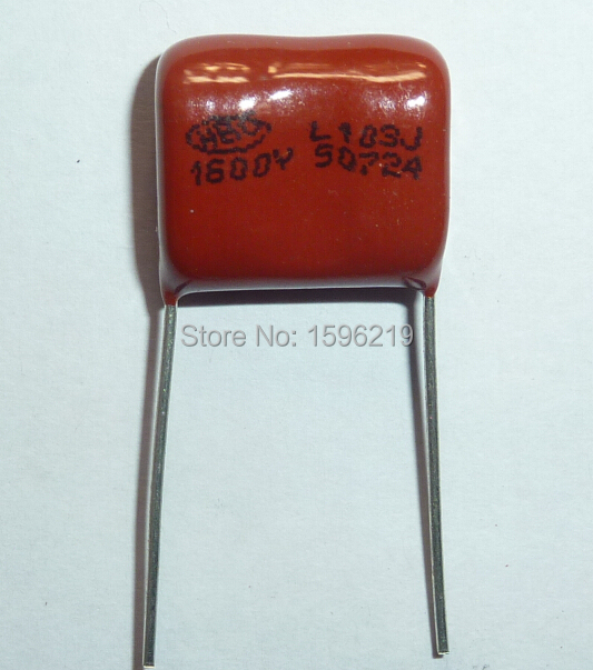 10 Pcs 1600 V 10NF 103J Condensador de película de polipropileno metalizado