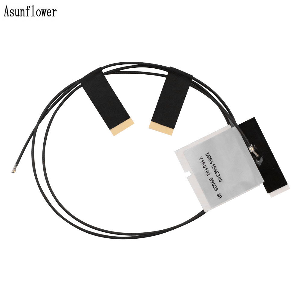 1 Pair M.2 Wifi Antenna Mini Wi-fi PCI-E Wireless MHF4 Laptop/Embedded Dual Band Antenna For NGFF WIFI WLAN Bluetooth Adapter