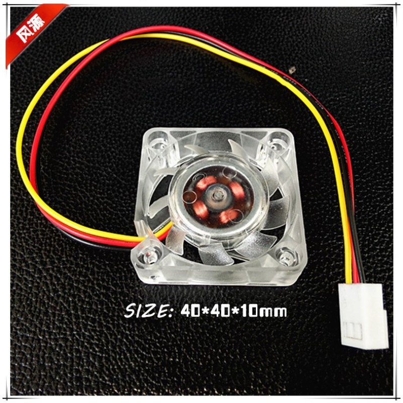 NEW 4010 40mm 40x40x10mm Fan For North And South Bridge Chip DC12V Graphics Card  Fan 3D Printer Silence Cooling Fan 3pin