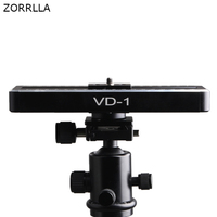 Mobile Slide Rail Cloud Platform Camera Slider Mini Video Track Slider