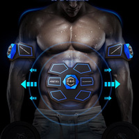 Electric Abdominal Muscle Training Device Smart Battery Home Fitness Slimming Trainer Gear Workout Equipment 2018 Hot
