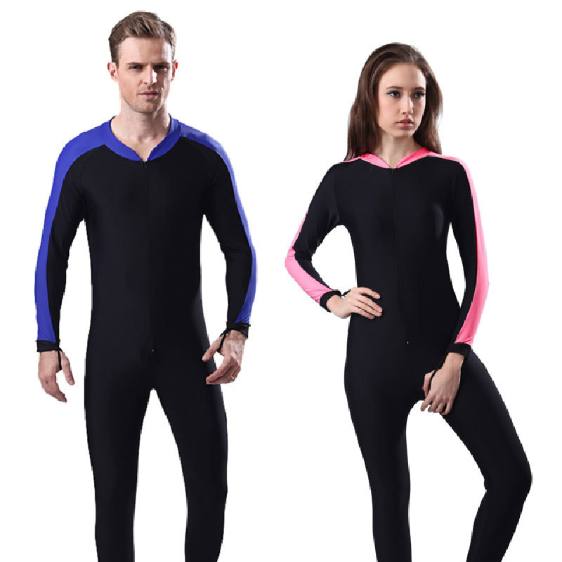 2c951609f7803 UV Sun Protection Full Body Coverage Swimsuit for Women or Men-SPF  Protective two-