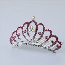 New Arrival Glittering Crown Baby Hair Stick Girls Hair Band Princess Tiara Headband Bridal Hair Accessories