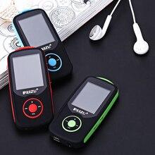 Nueva Original RUIZU X06 altavoz Bluetooth Deportes Reproductor de música MP3 4G 100 horas sin pérdidas de alta calidad Grabadora de FM Walkman radio