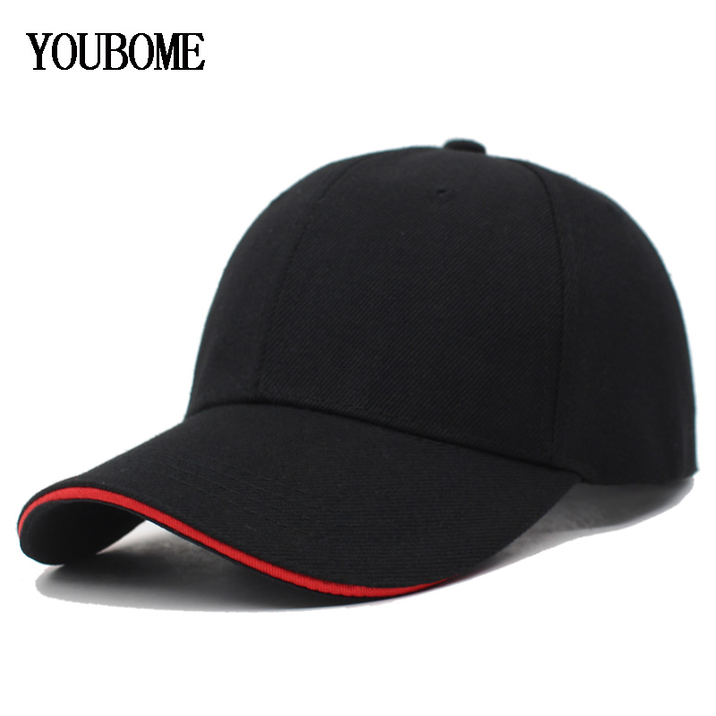 YOUBOME Women Baseball Caps For Men Brand Snapback Plain Solid Color Gorras Caps Hats Fashion Casquette Bone FemaLe Dad Cap(China)