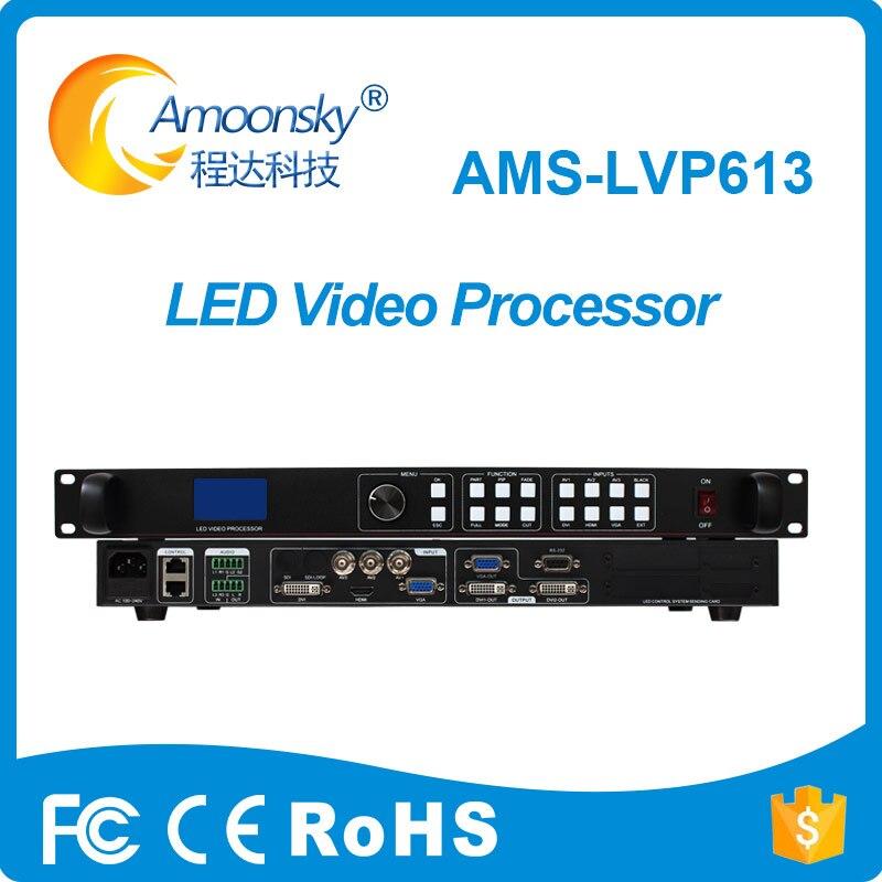 Controlador de pantalla de pared de vídeo led publicidad comercial de alta calidad lvp603 versión actualizada lvp613 procesador de vídeo de audio led