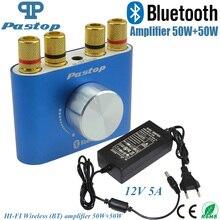 2017 Nueva Marca de Alta Fidelidad 100 W Mini F900 TPA3116 Bluetooth 4.0 Amplificador Digital Amp + 12 V 5A fuente de Alimentación ENVÍO SHIPPING-10000693_B