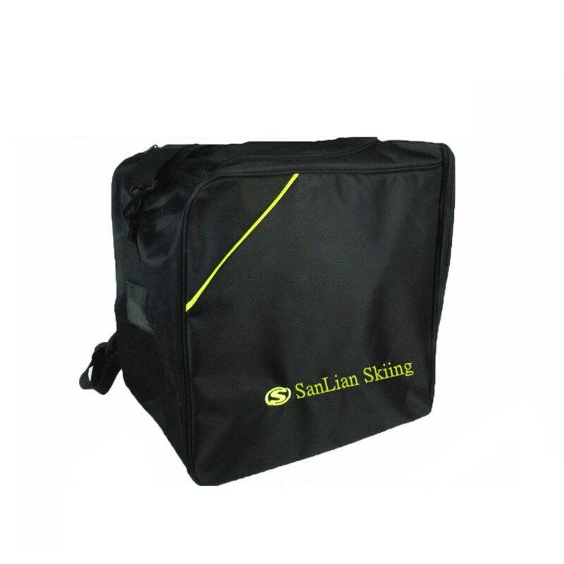 Adulte Épaisse Glace Professionnel Ski bottes de neige Sac À Dos Casque Tissu Lunettes Carry Portable sac à bandoulière Pour Snowboard 40X40X25 CM