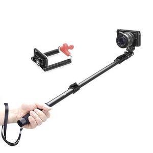 Image 4 - Yunteng 188 Selfie bâton monopode pour caméra téléphone Monopd gopro Hero3 +/3/2/1 noir