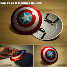 Action figure Scene props 1/6 Captain America metal Alloy Shield for 12 inches male action toys gift collection
