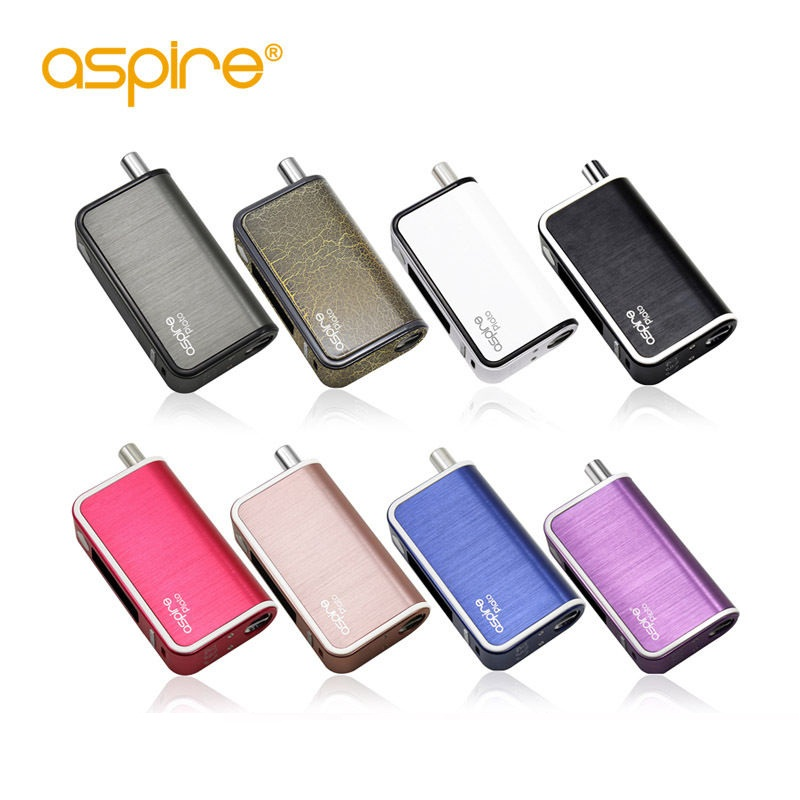 Aspire Plato 50W Kit All in One Kit Without 18650 Battery Temp Control Box Mod Vape Band Electronic Cigarette Kit vaporizer