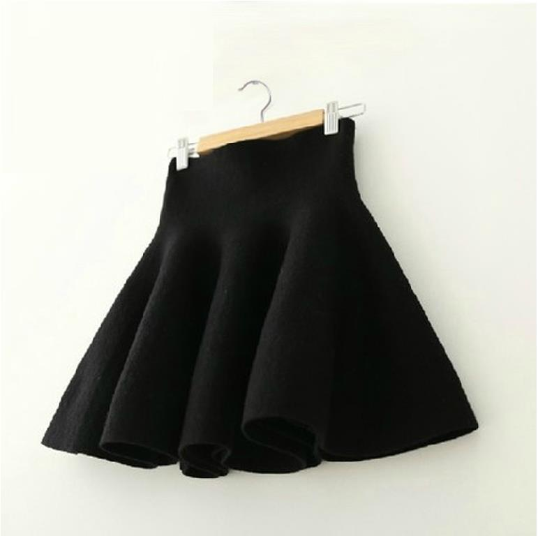 ball gown Autumn winter teenage big girls skirts tutu blue black red gray green age 9 10 11 12 13 14 years old skirt