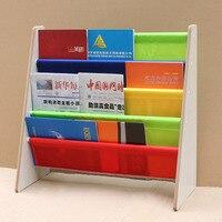 Home Storage Rack Assembled Bookshelves Magazine Sling Storage Rack Bedroom Newspaper Display Storage Holder