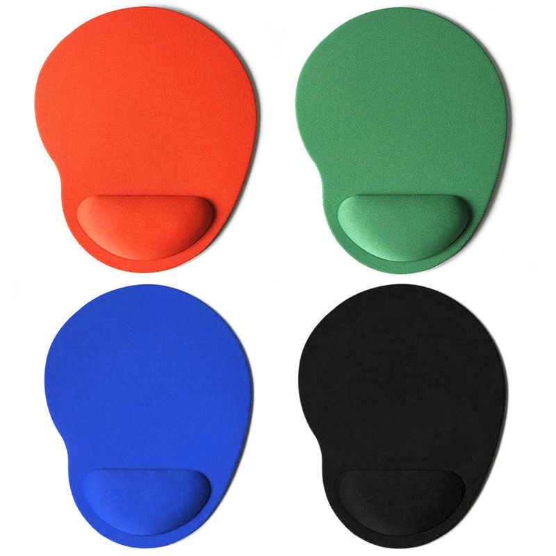 色マウスパッドとトラックボール PC 厚みマットシリコンリストレストマウスパッドゲーミングマウスマットデスクトップ Pc コンピュータオフィスゲーム
