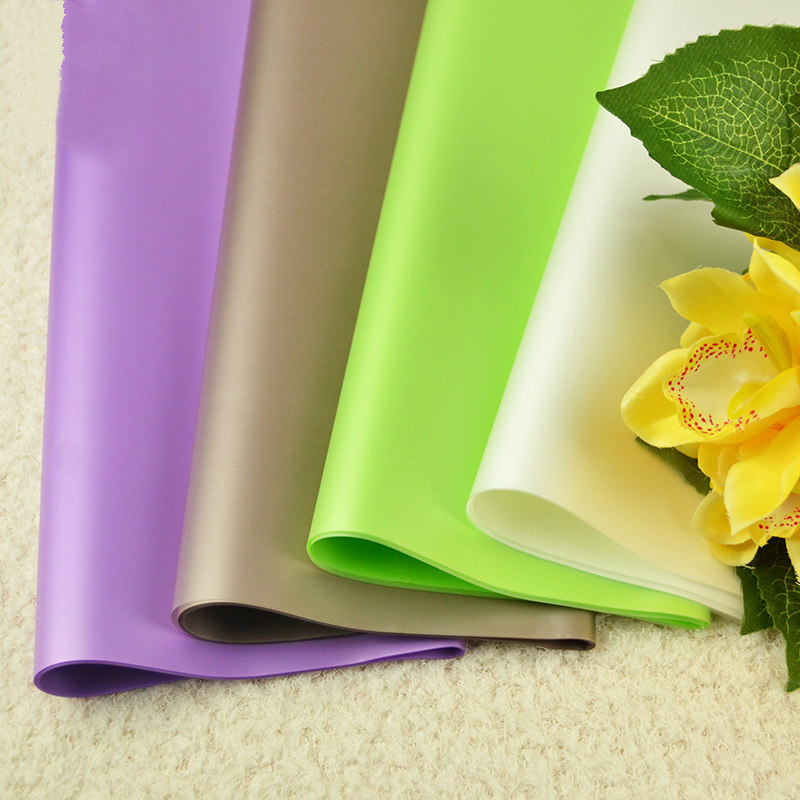 Us 7 91 12 Off Flower Wrapping Paper Frosted Floral Paper Apple Wrapping Paper Bouquet Florist Supplies Gift Wrapping Materials20pcs Lot In