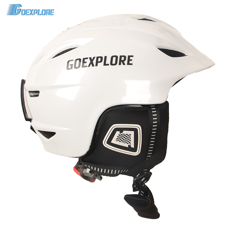 Casque de Ski Goexplore enfants intégralement léger casque de Ski adulte casque de neige casquette de sécurité Skateboard neige Snowboard casque femmes