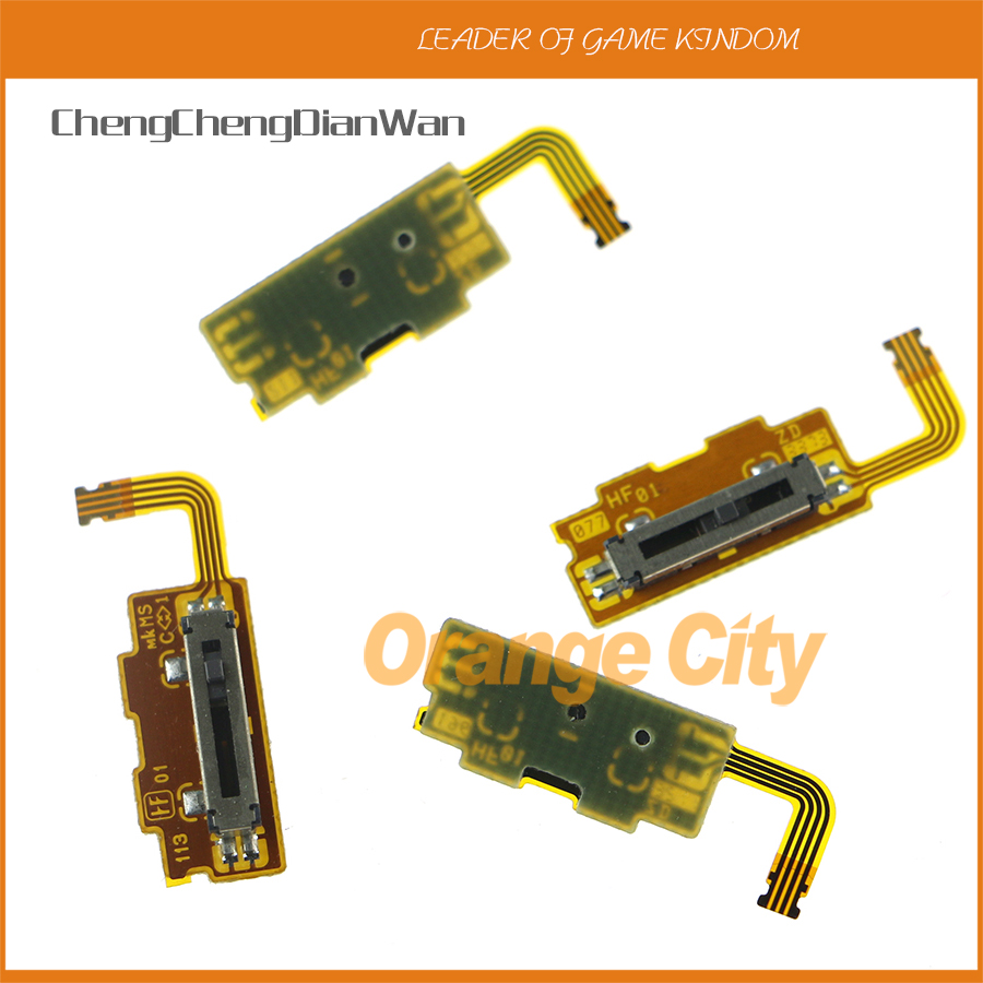10pcs high quality Original Used Volume Control Switch Module Flex Cable Replacement For Microsoft 3DS XL 3DS LL Game Console