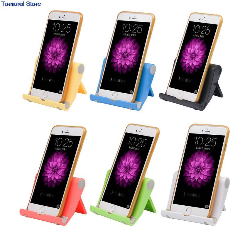 Buy Adjustable Foldable Mobile Phone Holder Desk Stand