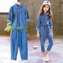 camicette Set Jeans Blu