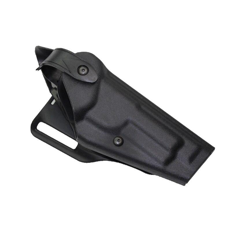 Caza Airsoft M9 funda de Pistola Negro Right Hand Paddle Cinturón Ajuste Para M9