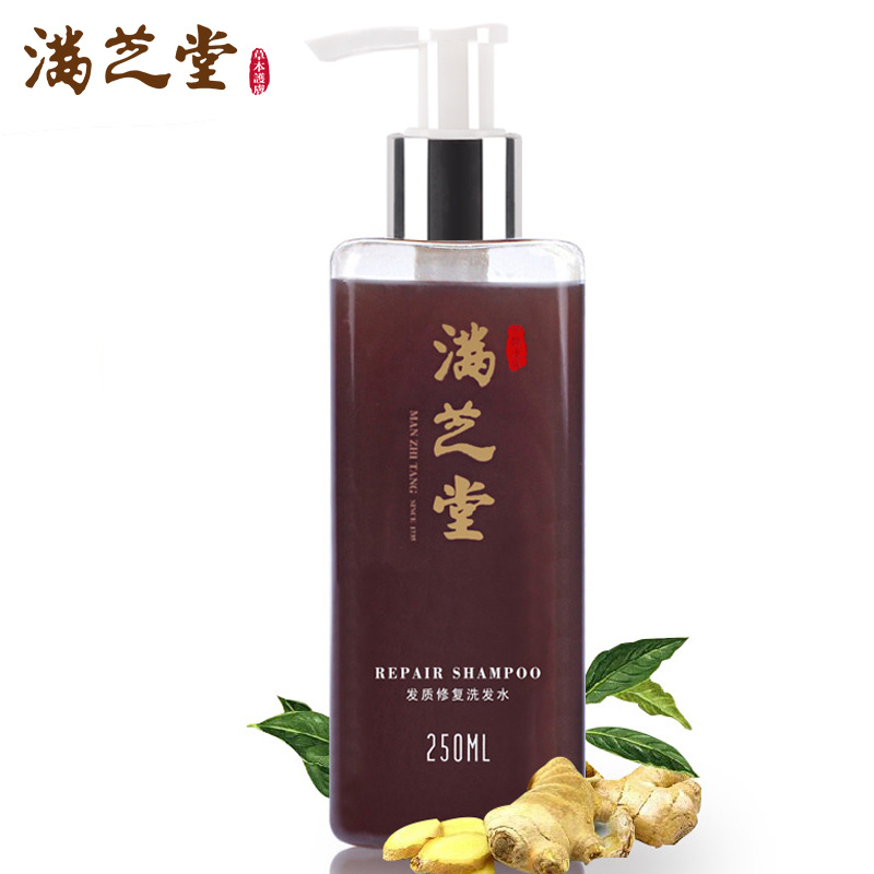 Traditional Chinese Medicine Nourishing Scalp Oil-control Shampoo