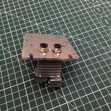 Dual Extruder Carriage Plate for Flsun 3D Printer