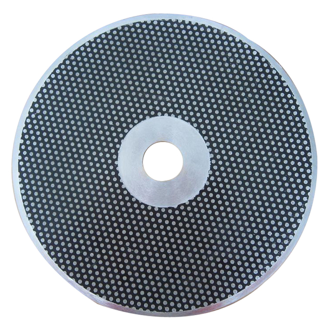 1pc Dental Lab Diamond sand sheet cutting wheel disc on Cleaning and trimming master stone and counter stone model 250mm 10 inch
