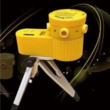 1Pc Multifunction Cross Laser Level Leveler Vertical Horizontal Line Tool With Tripod Worldwide Measuring Range 100m