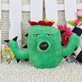 Venta caliente 16 CM (doble Girasol) Plants vs zombies muñeco de peluche de juguete Muñeca Top juegos Del Bebé de Juguete para Niños Regalos juguetes