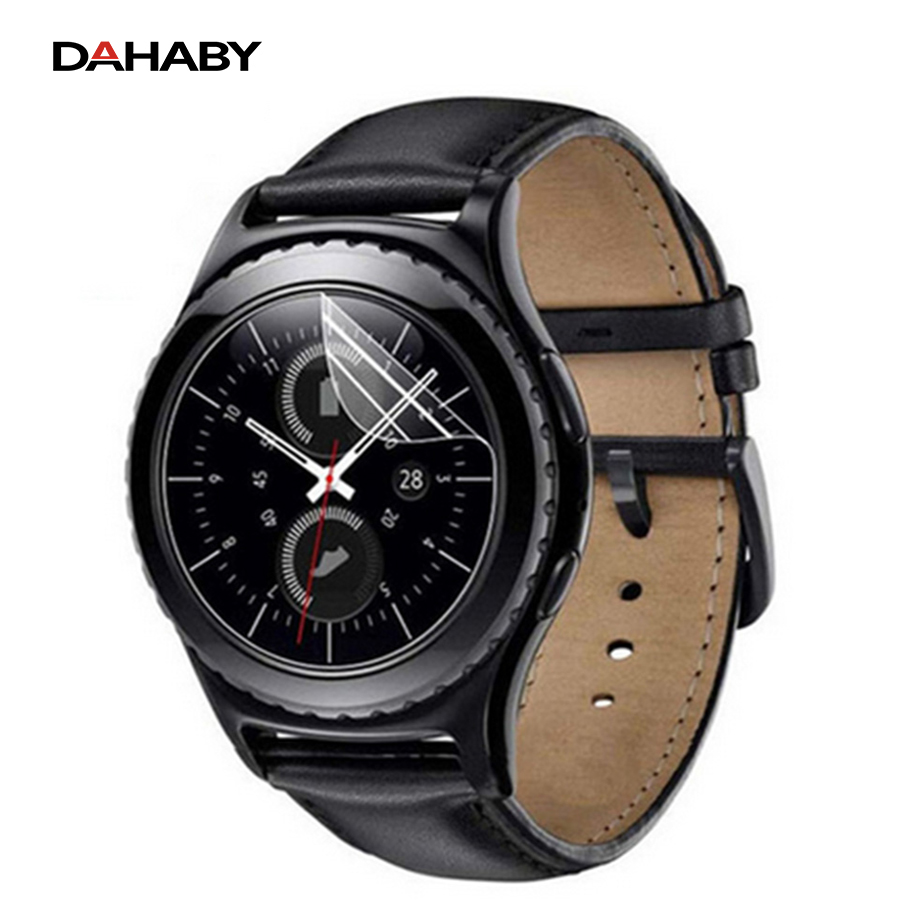 DAHABY 2Pcs/lot For Samsung Gear S2/S3 Nano Material Screen Protector Film For Gear S 2 S 3 Smart Wristband (Not Tempered Glass)
