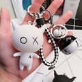 Keychain Cute Bag Charm Holder Cartoon Resin Key Chain