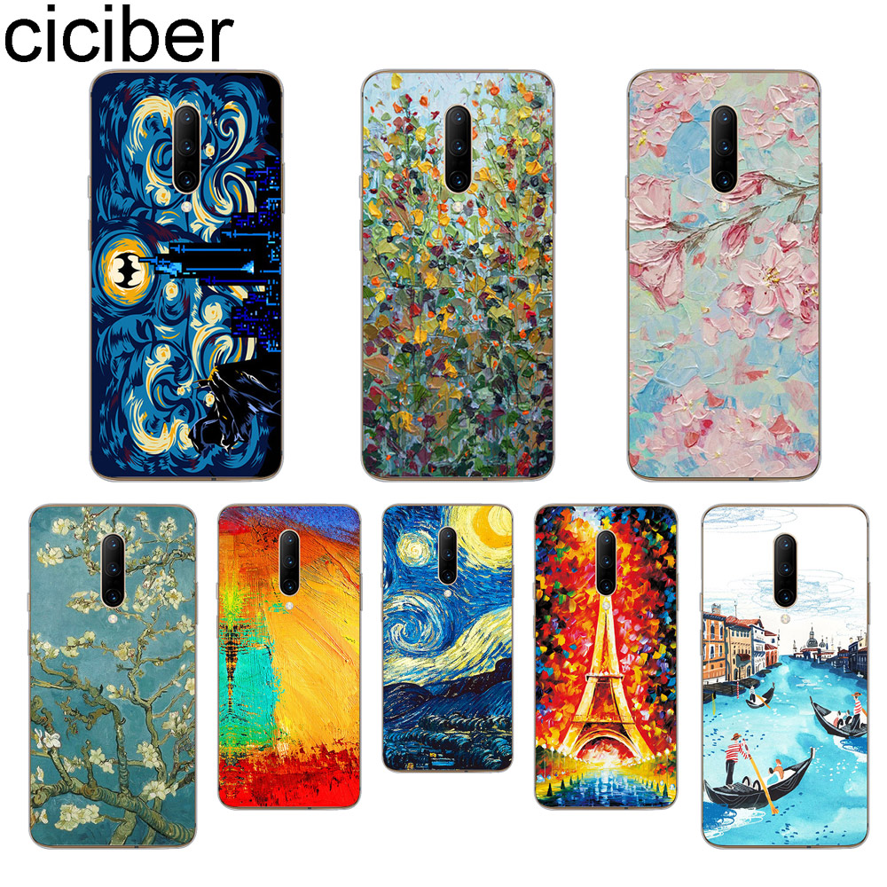 ciciber Van Gogh oil painting Phone Case For font b Oneplus b font font b 7