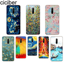 ciciber Van Gogh oil painting Phone Case For Oneplus 7 Pro 1+7 Pro Soft TPU Cover for Xiaomi 9 Coque For Redmi Note 7 6 Pro Capa