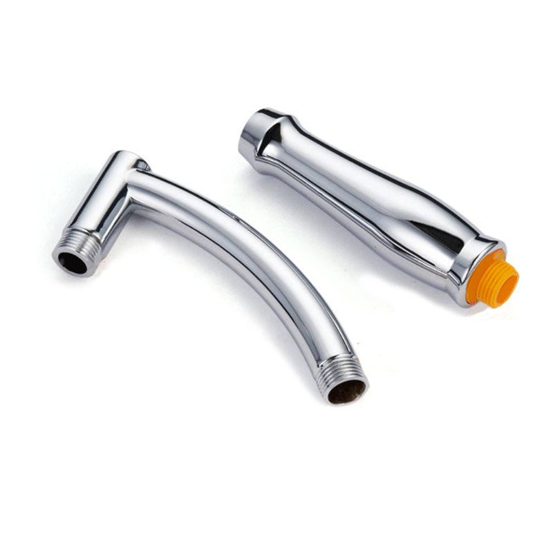 Shower Head Extension Arm Arch Design Hand Hold Adjustable Extender High Polished Sprinkle Parts For Bathroom