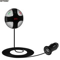 BOTD Auto Bluetooth Ladegerät USB 2A FM Transmitter Tf-karte Mp3-player Für iphone 5 5 s 6 6 s 7 plus ipad samsung zte huawei aux kit