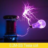 0.2M Solid State Tesla Coil / Music Tesla Coil / LIGHTNING STORM