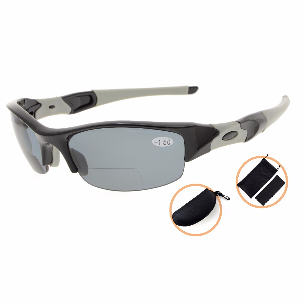 ed98c6fe7f06 TH6166PGSG Eyekepper TR90 Unbreakable Sports Sunglasses Polycarbonate Half  Rimless Polarized Bifocal Sunglasses Reading Glasses-in Reading Glasses  from ...