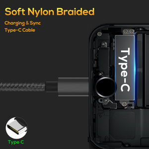 Image 5 - USB C Fast Charge For Samsung S9 S8 Plus Usb Type C Cable 3.1 Charging Data Sync Mobile Phone Wire USBC For Xiami mi note 10 pro