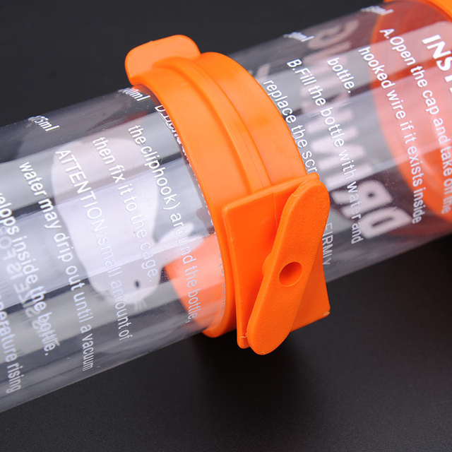 Hanging Plastic/Stainless Steel Guinea Pig - Squirrel - Rabbit - Hamster Water Drinking Dispenser 80ml 125ml 250ml 5