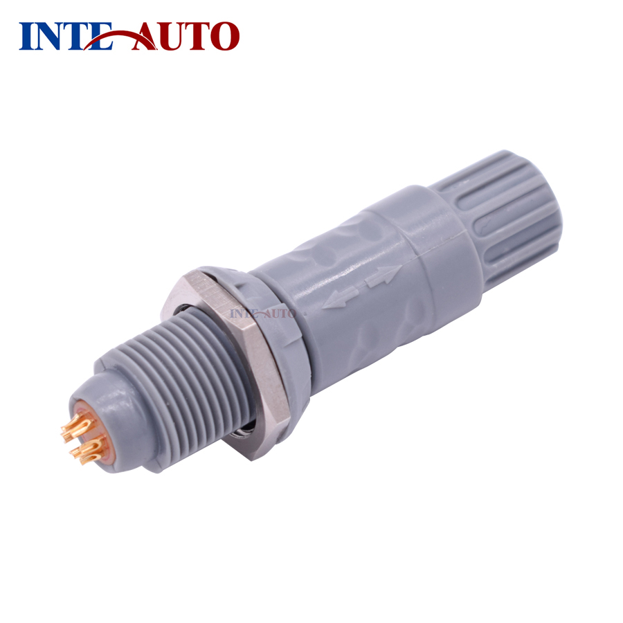 Redel LEMO connector,Female male Connector,Plastic circular push pull plug socket,PAG PKG,2,3,4,5,6,7,8,10,14 pins,RoHS passed replacement lemos connector circular metal push pull cable plug 3 pins m12 size brass body solder contacts fgg 1b 303